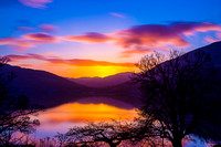 Loch Long Sunset._